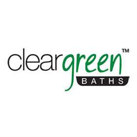 Clear Green Bath